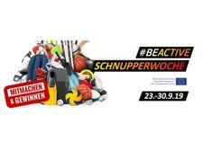 #beactive Schnupperwoche